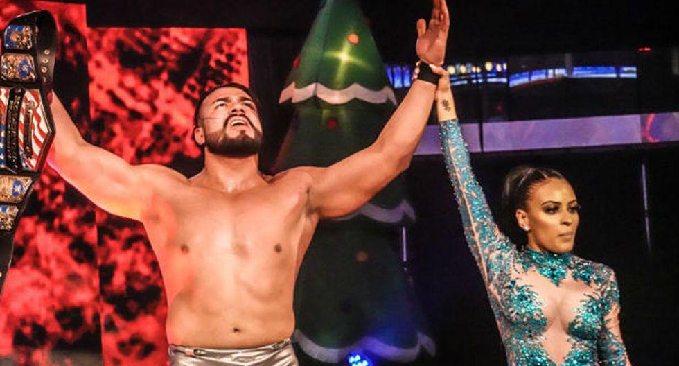 Andrade es el nuevo campeón de los Estados Unidos. (Foto: WWE)