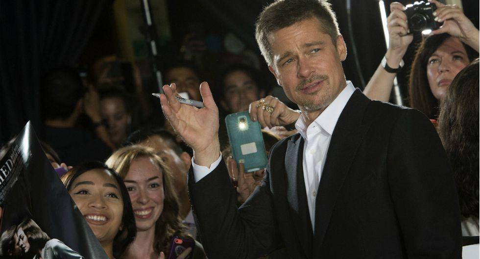Brad Pitt rompe su silencio. Fuente: AFP