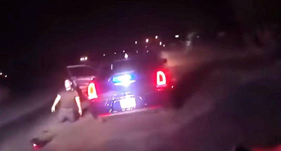 Policía de Estados Unidos dispara y mata a hombre arrodillado