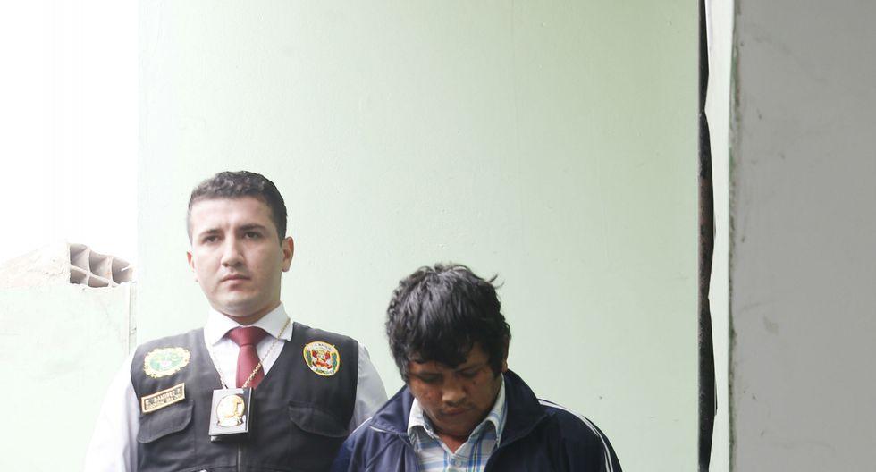 Jorge Luis Mendoza Nateros (31) y estranguló a su pareja y fue captura en San Juan de Miraflores.