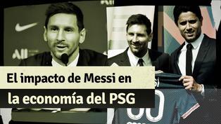 El impacto de Messi en la economía del PSG: vendió más camisetas que Neymar y atrajo nuevos contratos
