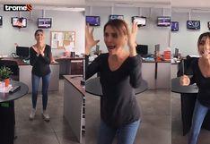 """Juliana Oxenford muestra su lado más ansioso en nuevo Tik Tok: """"Tantos días de cuarentena me va a dar algo"""""""