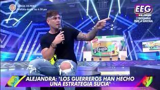Esto es Guerra: Pancho Rodríguez decepcionado de Alejandra Baigorria y Ducelia Echevarría, tras pasar a los Guerreros