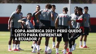 Así fue el último entrenamiento de Perú para enfrentar a Ecuador por Copa América