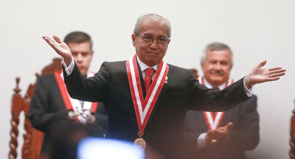 Pedro Chávarry juró como Fiscal de la Nación