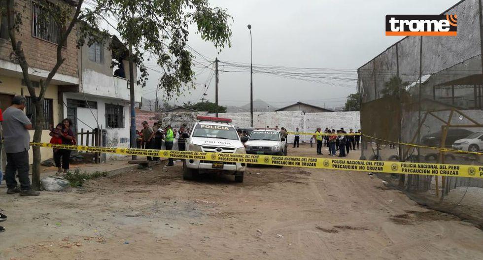 Matan a sujeto tras salir de fiesta chicha en Villa El Salvador. Foto: Trome   Mónica Rochabrum