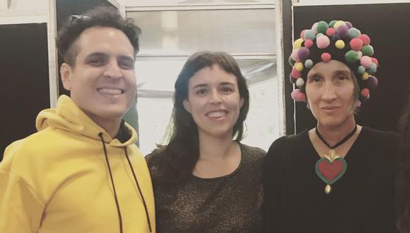 Andrea Echeverri colabora con Alejandro y María Laura en su nueva canción. (Foto: @alejandroymaríalaura)