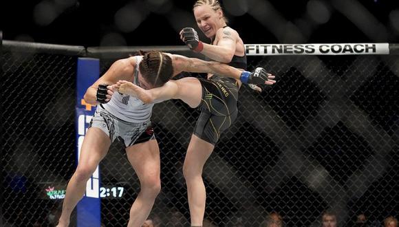 Valentina Shevchenko no tiene rivales en su categoría del UFC. (Agencias)
