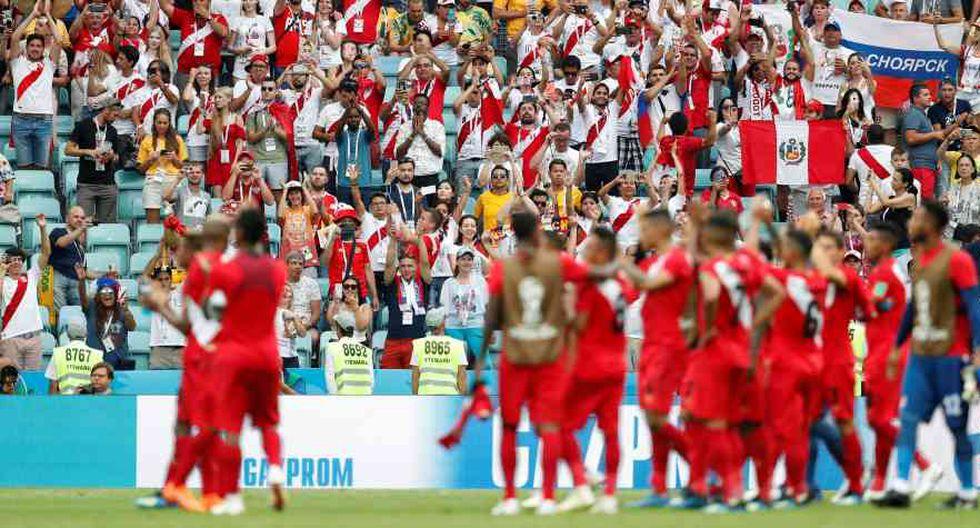 La selección peruana regresó a la Copa del Mundo luego de 36 años. (Foto: Reuters)