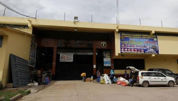 Cusco: Penal de Qenccoro cuenta con zona de aisalamiento para posibles casos COVID-19
