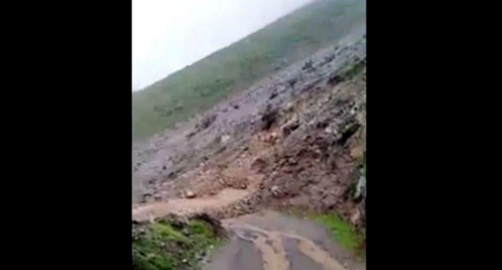 Caída de fuertes huaicos deja incomunicados a siete distritos. Video: Captura de Canal N