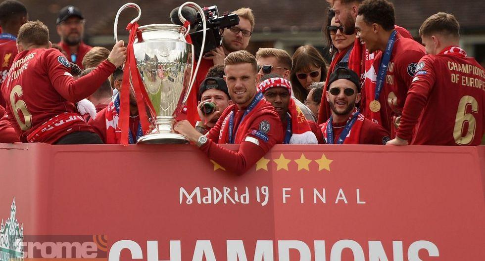 Así recibieron a jugadores de Liverpool tras ganar la Champions League