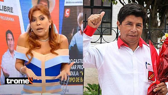 """Magaly 'asustada' con Pedro Castillo: """"Va a pasar los programas horribles del Estado todos los días"""""""