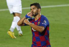 Luis Suárez anotó el 3-0 de Barcelona ante Napoli por octavos vuelta de Champions League [VIDEO]