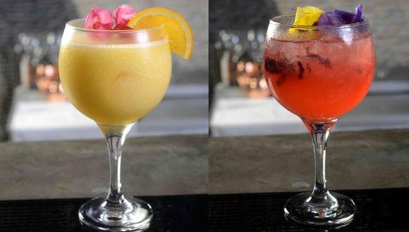 'Calichín' y 'Pinky' dos cócteles para sorprender y preparar en esta fecha.  (Fotos: Mi Propiedad Privada)