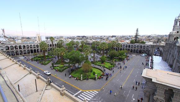 Entérate por qué le dicen a Arequipa, la Ciudad Blanca (Foto: GEC)