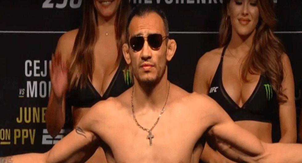 'El Cucuy' afirma que Khabib se 'le corre'. (UFC)