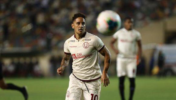 Universitario remontó 2-1 a Sport Huancayo con golazos de Hohberg y Urruti y es líder del Torneo Apertura de la Liga 1