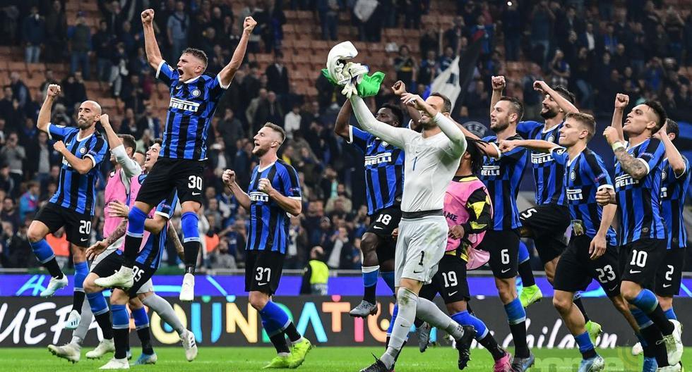 Inter venció  2-0 a Borussia Dortmund por la tercera fecha del la Champions League