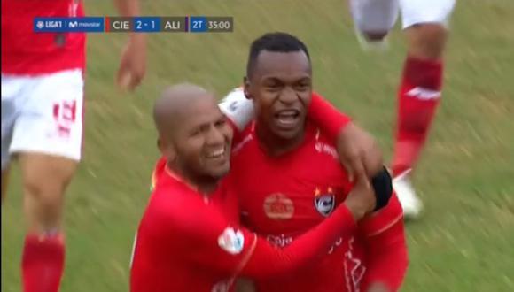 Gol de José Cuero en Alianza Lima vs Cienciano por Liga 1