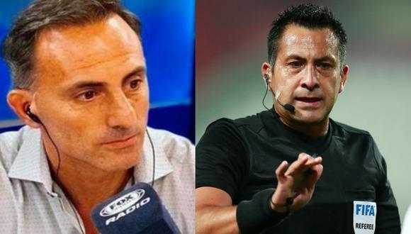 Diego Latorre opinó sobre el pésimo arbitraje de Julio Bascuñán en el Perú vs Brasil por Eliminatorias. (Agencias)