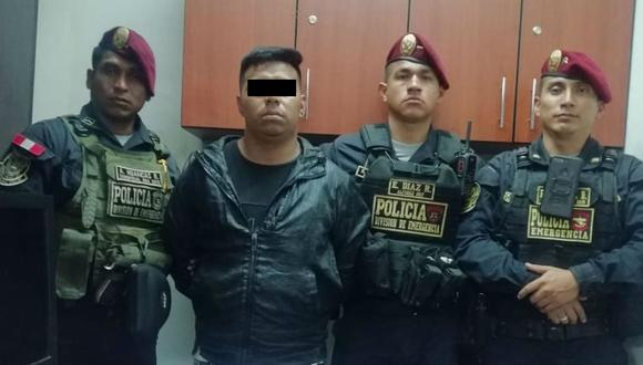 Tras intensa persecución, capturan a sujeto que estaría implicado en últimos casos de sicariato | TROME