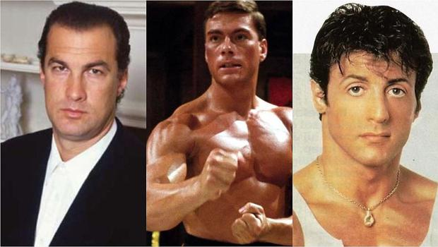 Jean-Claude Van Damme casi golpea a Steven Seagal en una fiesta, reveló Sylvester Stallone (Foto: Getty/IMDb)