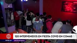 Comas: así detuvieron a más de 120 personas durante fiesta en prostíbulo clandestino 'Las Conejitas'