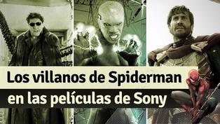 Spiderman: todos los villanos a los que se ha enfrentado el hombre araña
