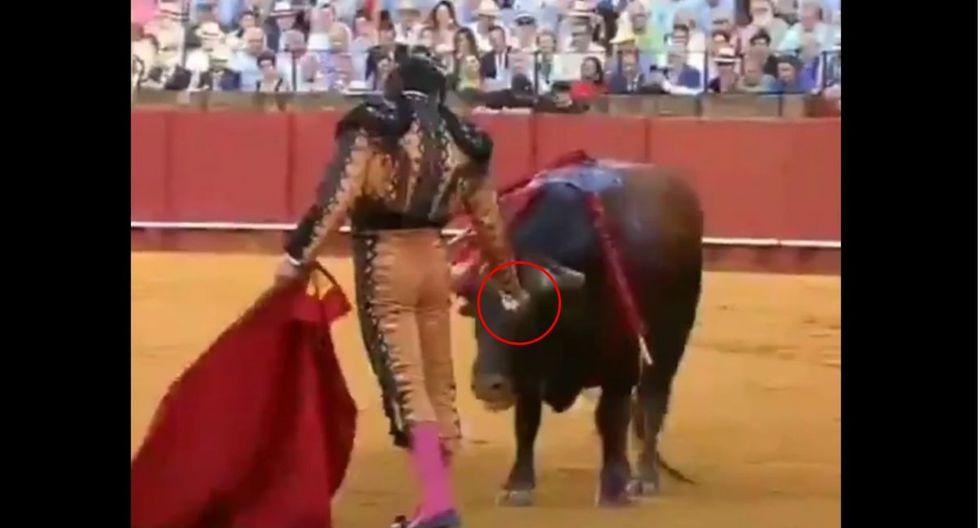 Torero causa polémica por este gesto