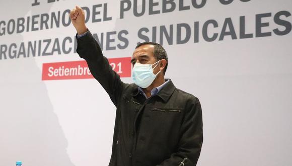 Ministro de Trabajo, Iber Maraví, respondió la interpelación ante el Congreso. (Foto: MTPE)