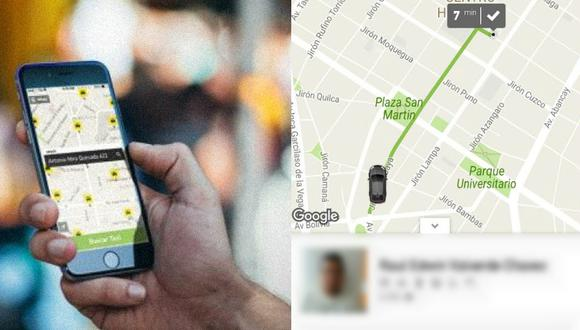 Congresista fujimorista presentó una norma que busca regular el negocio de las plataformas que ofrecen el servicio de taxi.