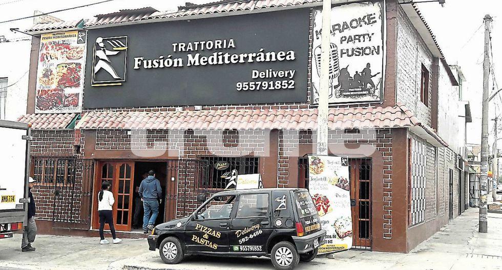 Inseguridad ciudadana: Pistoleros asaltan restaurante italiano en San Juan de Miraflores