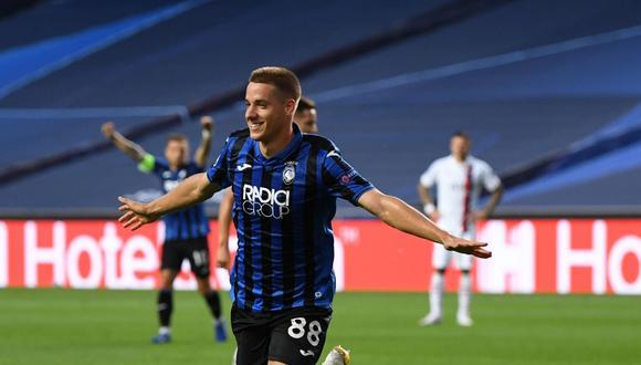 Gol de Mario Pasalic para el 1-0 en Atalanta vs PSG por Champions League