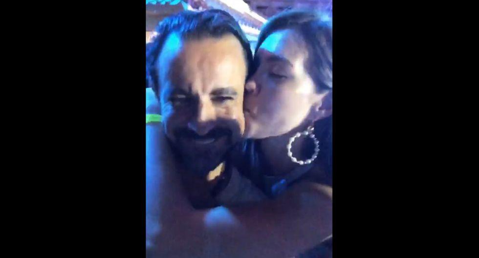 Sheyla Rojas junto a libanés millonario