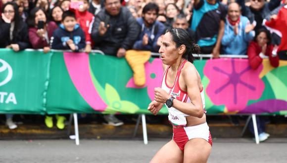 Gladys Tejeda vuelve a las competencias tras pandemia por COVID-19 (FOTO: GEC)
