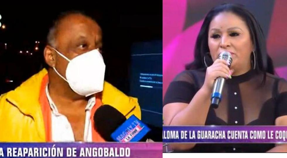 Angobaldo reaparece y arremete contra Paloma de la Guaracha (TROME)