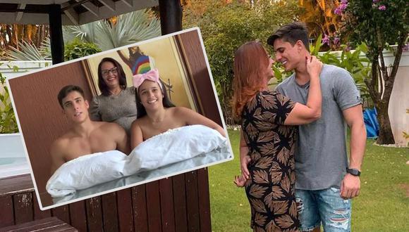 Tiago Ramos, enamorado de la madre de Neymar volvió a casa de su madre y hermana en Paraíba. (Foto: Instagram)