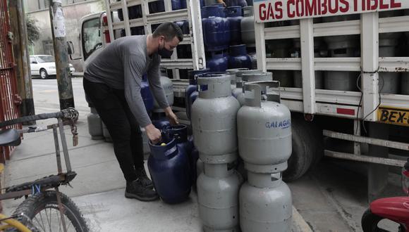 El precio del balón de gas está entre S/ 40 y S/ 62 en Lima Metropolitana, según Osingermin. (Foto: GEC)