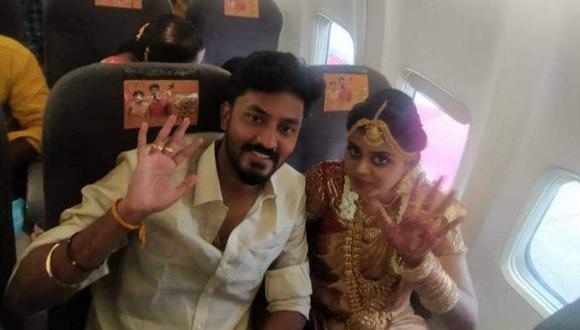 La boda ha causado indignación por violar las normas del confinamiento en el estado sureño de Tamil Nadu, mientras la India continúa registrando elevados números de muertes por el coronavirus. (Foto: Twitter)