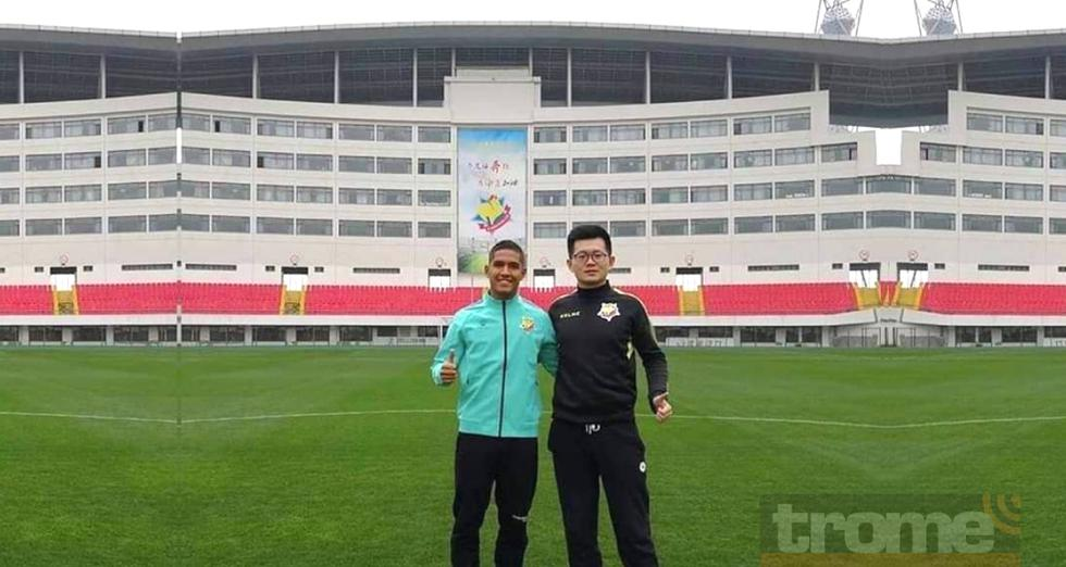 Este es el nuevo club de Roberto Siucho en la Segunda División de China