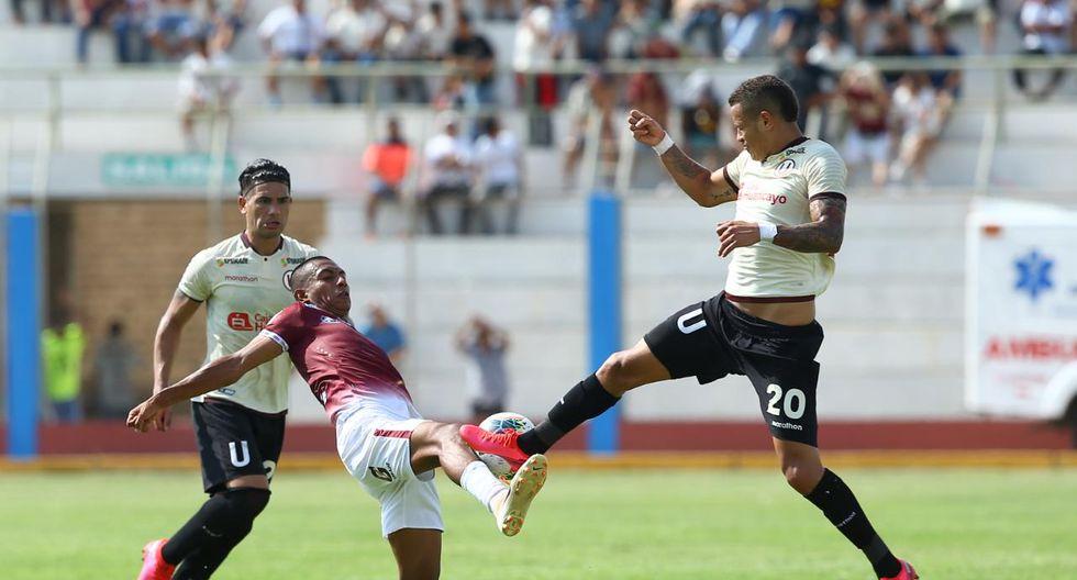 El choque por la fecha 3 de la Liga 1, fue muy disputado. (Foto: Fernando Sangama)