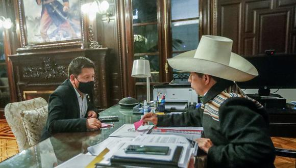 Pedro Castillo indicó que los cambios en el Gabinete dependen de la decisión del presidente Castillo. (Foto: Pedro Castillo / Twiter)