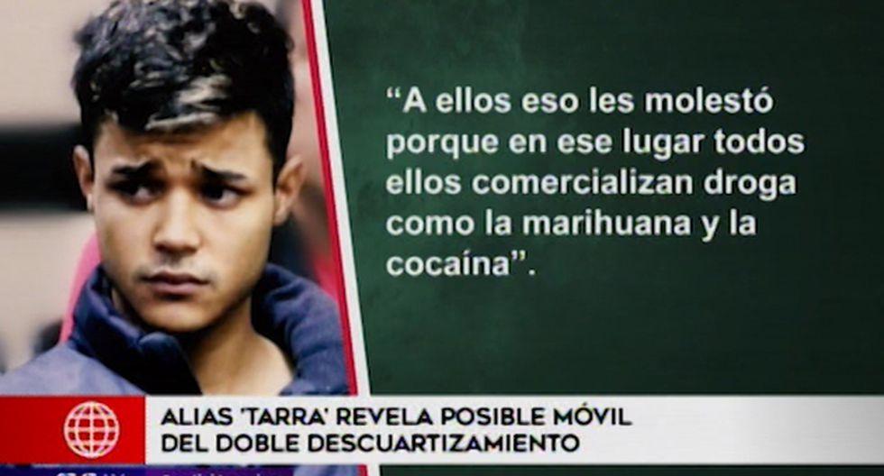 Angelbert Díaz Colina reveló el posible móvil que motivo al homicidio doble de un peruano y un venezolano la noche del 8 de setiembre. (América Tv)