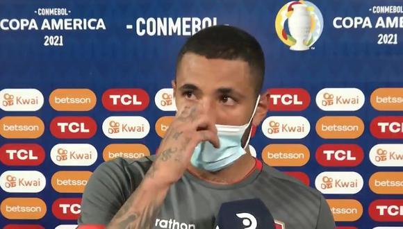 Sergio Peña esperó 13 partido para anotar su primer gol con la selección peruana.