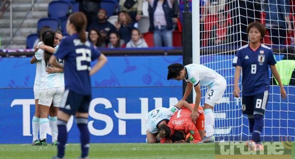 Argentinas festejaron con esta canción su primer punto histórico en Mundial Femenino 2019.
