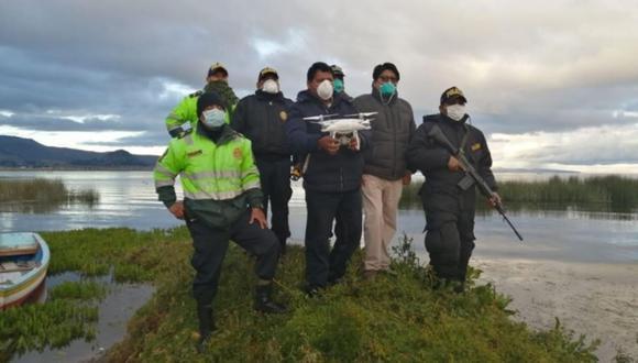 Puno. Vigilan por aire el límite fronterizo con Bolivia. (Foto de Andina)