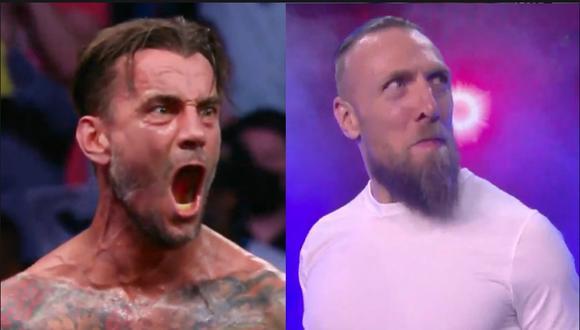 Las superestrellas de la lucha profesional CM Punk y Daniel Bryan ya son parte de AEW. (Redes sociales)
