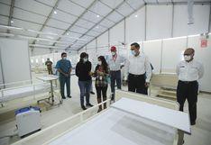 Coronavirus                         en Perú: entregan hospital temporal para atender                         pacientes COVID-19 en SJL