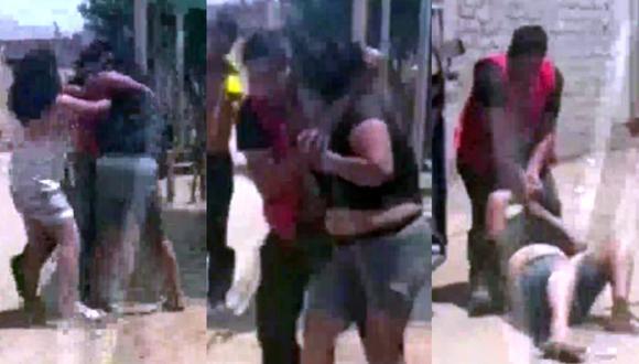Sujeto en presunto estado de ebriedad masacra a su pareja en plena vía pública